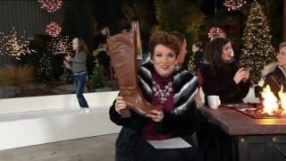 Franco Sarto Leather Medium or Wide Calf Boots - Arlette on QVC