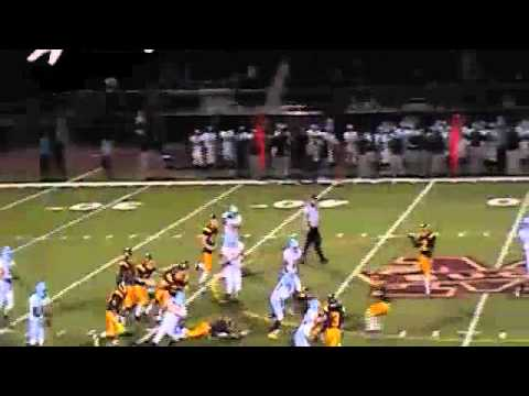 Jerome Johnson Cape Henlopen High School Football Highlight Film