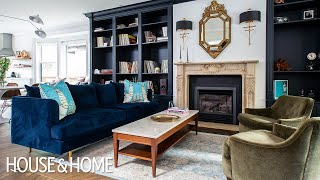 A Dated Traditional Home Gets An Edgy Makeover