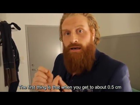 Kristoffer Tormund Hivju on Starting a Beard [subtitles]