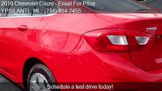 2016 Chevrolet Cruze LT Auto 4dr Sedan w/1SD for sale in YPS