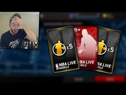 THESE PACKS HAVE ALL RARE CARDS + MY FREE ELITE IN NBA LIVE MOBILE!! Ballin on a Budget Ep. 11
