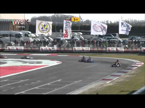 WSK SUPER MASTER SERIES 2015 ROUND1 60 MINI FINAL