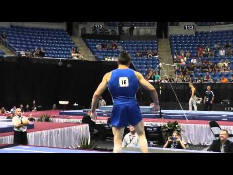 Chris Brooks - handspring double pike!