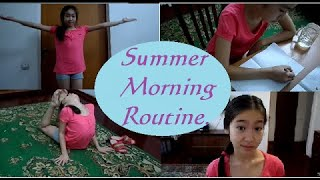 Моё утро |Morning Routine| RAKHIMAZHARMENOVA