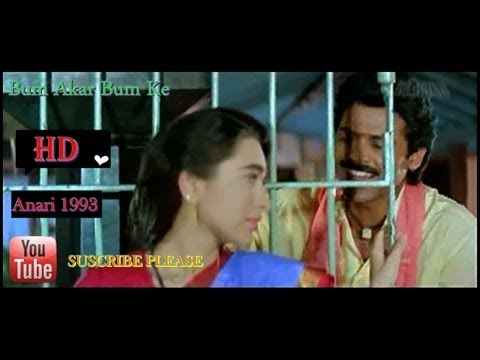 Bum Akar Bum Ke 1080p *hd* Blu-ray Full Song Anari 1993 [udit Narayan] video