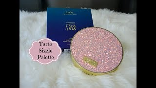 Tarte Rainforest of the Sea Sizzle Eyeshadow Palette W/ Swatches