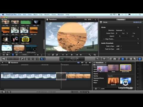 Add. Modify. and Delete Video Transitions in Final Cut Pro X