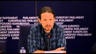 Pablo Iglesias habla de la casta también en inglés