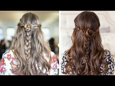 Rodarte Inspired Rosette Braids