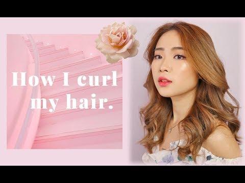 HOW I CURL MY HAIR: SOFT WAVY CURLS TUTORIAL