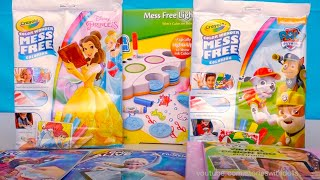 Coloring With Magic Ink and Disney Princesses Dress Design Color Alive Frozen Elsa and Anna