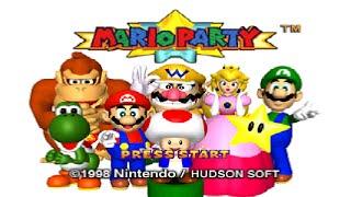 Mario Party (N64) - All Boards Longplay