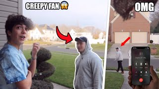 Creepy Fan Comes To My House! *NOT CLICKBAIT*