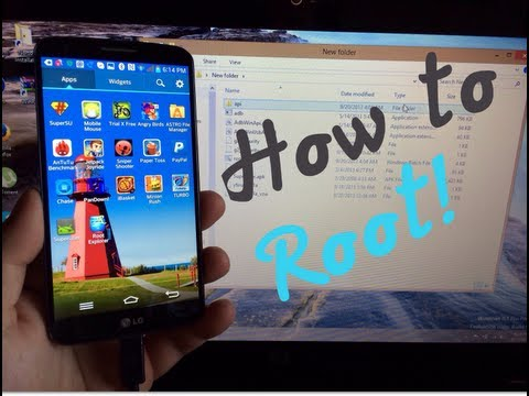LG G2 - How To Root On Any Carrier Easily! - T-Mobile. AT&T. Verizon. Sprint