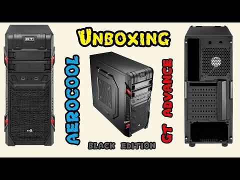 Unboxing Gabinete AeroCool GT Advance Black Edition (review)
