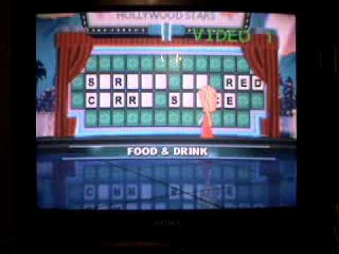 Wheel of Fortune Wii Run Game 10 Part 2 Multi-Million Dollar Run