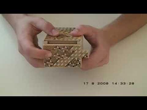 japanese puzzle box instructions
