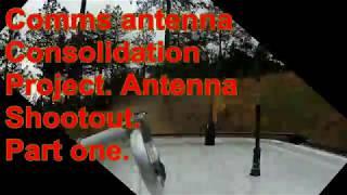 Multi Band Mobile Radio Antenna Shootout. Part 1