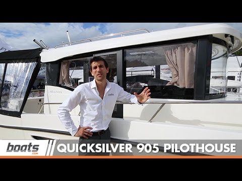 Quicksilver 905 Pilothouse: First Look Video