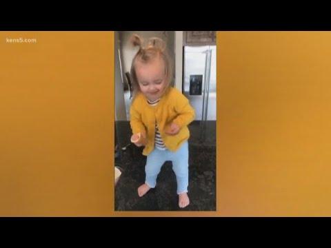 Toddler goes viral dancing to Beyoncé thumbnail