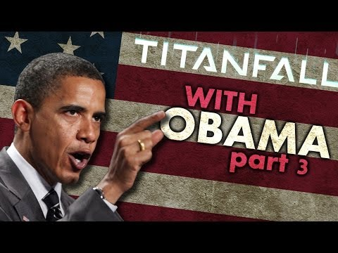 President Obama Plays Even More Titanfall