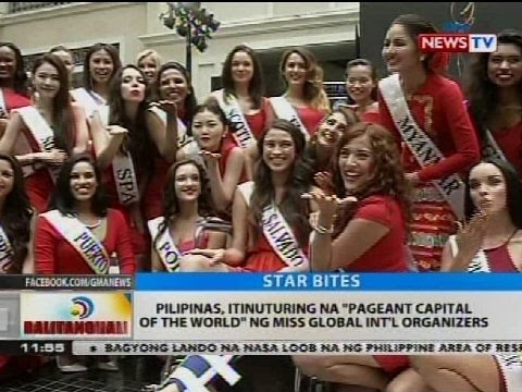 BT: Pilipinas, itinuturing na 'Pageant Capital of the World' ng Miss Global Int'l organizers