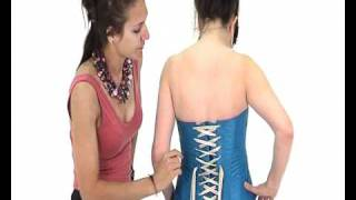 How to Lace a Corset | Simply Be