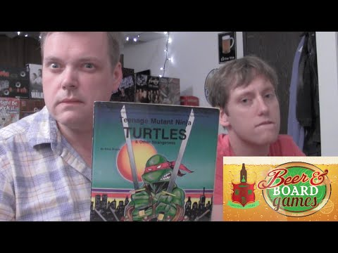 Drunk Teenage Mutant Ninja Turtles (Beer and Board Games)