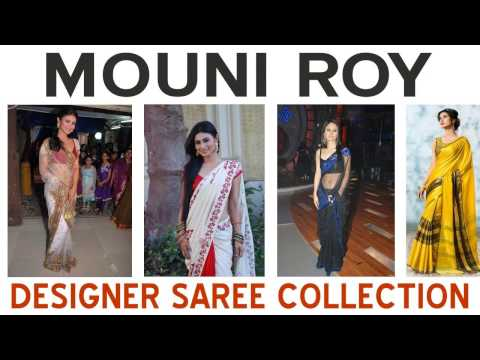 Mouni Roy Designer Saree Blouse Collection