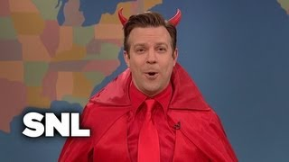 Weekend Update: The Devil on the Westboro Baptist Church's Funeral Protests - SNL