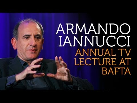 Armando Iannucci: BAFTA Television Lecture 2012