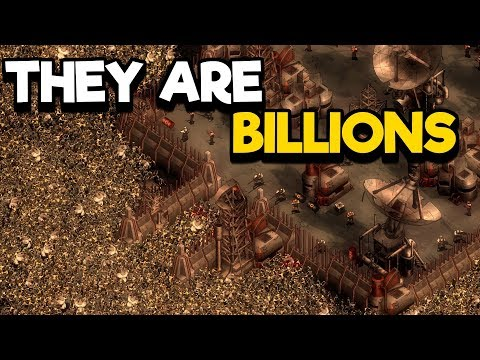 They Are Billions Gameplay - Zombie Defense Post Apocalyptic City Building
