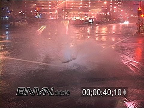 6/16/2006 Sewer Back Up, Flying Man Hole Covers, Flooded Streets In Minneapolis