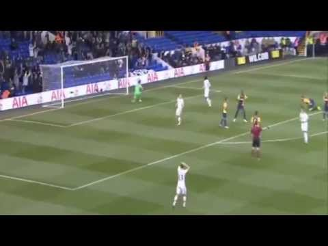 Erik Lamela Rabona Goal for Tottenham 23/10/2014