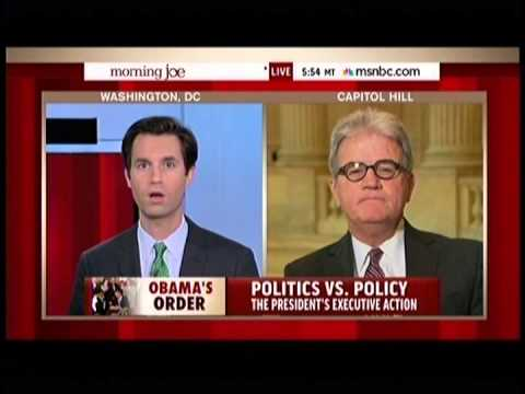Dr. Coburn discusses immigration policy on Morning Joe