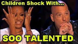 Ten MOST TALENTED KIDS Auditions Ever on America's Got Talent