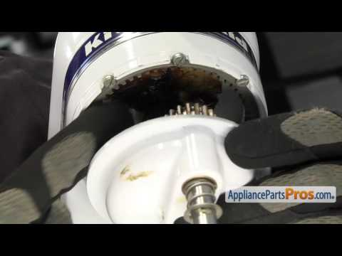 Mixer Center Shaft O Ring (part #WP67500-55) - How To Replace