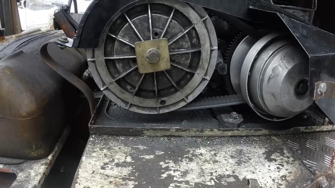 Снегоход буран ремонт вариатора