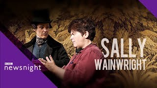 Gentleman Jack's Sally Wainwright on class and gender in TV writing - BBC Newsnight