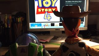Buzz And Woody Finds Out About Toy Story 4