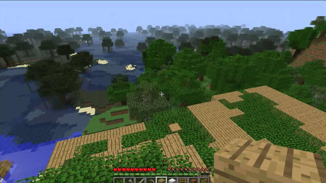 Costruire una casa sull 39 albero minecraft commentary by t45k youtube - Costruire casa albero ...