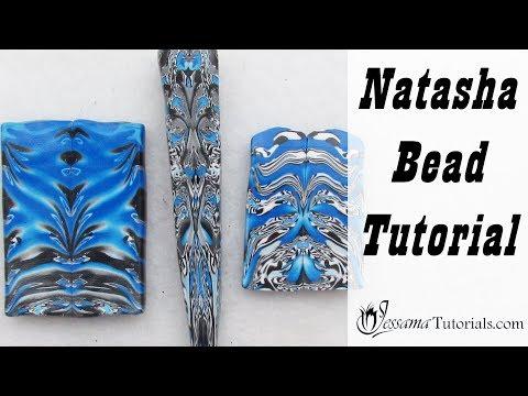 Polymer Clay Natasha Bead Tutorial