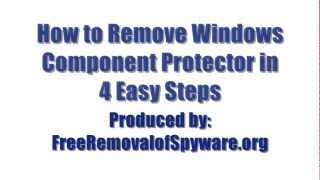 Remove Windows Component Protector in 4 Easy Steps
