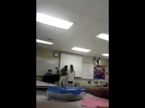 A ninth grade teacher in San Benito is caught on camera announcing to ...