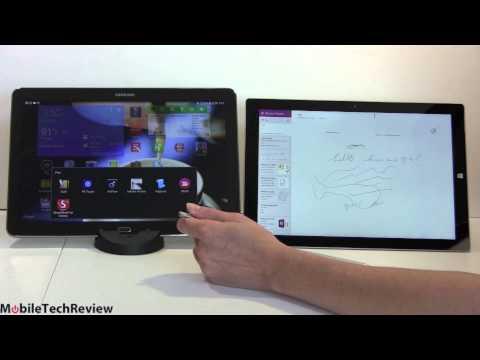 Microsoft Surface Pro 3 vs Samsung Galaxy Note Pro 12 2 Comparison Smackdown