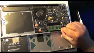 Macbook 2008 Unibody Memory upgrade 6GB RAM