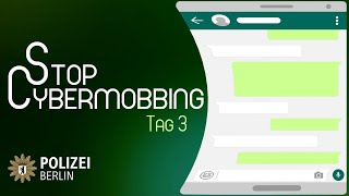 Tag 3 #StopCybermobbing