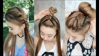 Hướng Dẫn Tết Tóc Đẹp Đơn Giản Dễ Làm - Easy Hairstyles Tutorials For Girls #5
