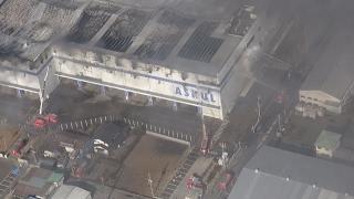 アスクル倉庫火災、2度の爆発
